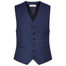 Buy Reiss Harry Modern Fit Waistcoat, Airforce Blue Online at johnlewis.com
