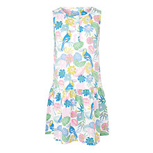 Buy John Lewis Girls' Toucan Print Sleeveless Sun Dress, Multi Online at johnlewis.com