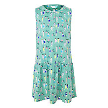 Buy John Lewis Girls' Hula Girl Dress, Green Online at johnlewis.com