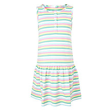 Buy John Lewis Girls' Striped Sleeveless Dress, Multi Online at johnlewis.com