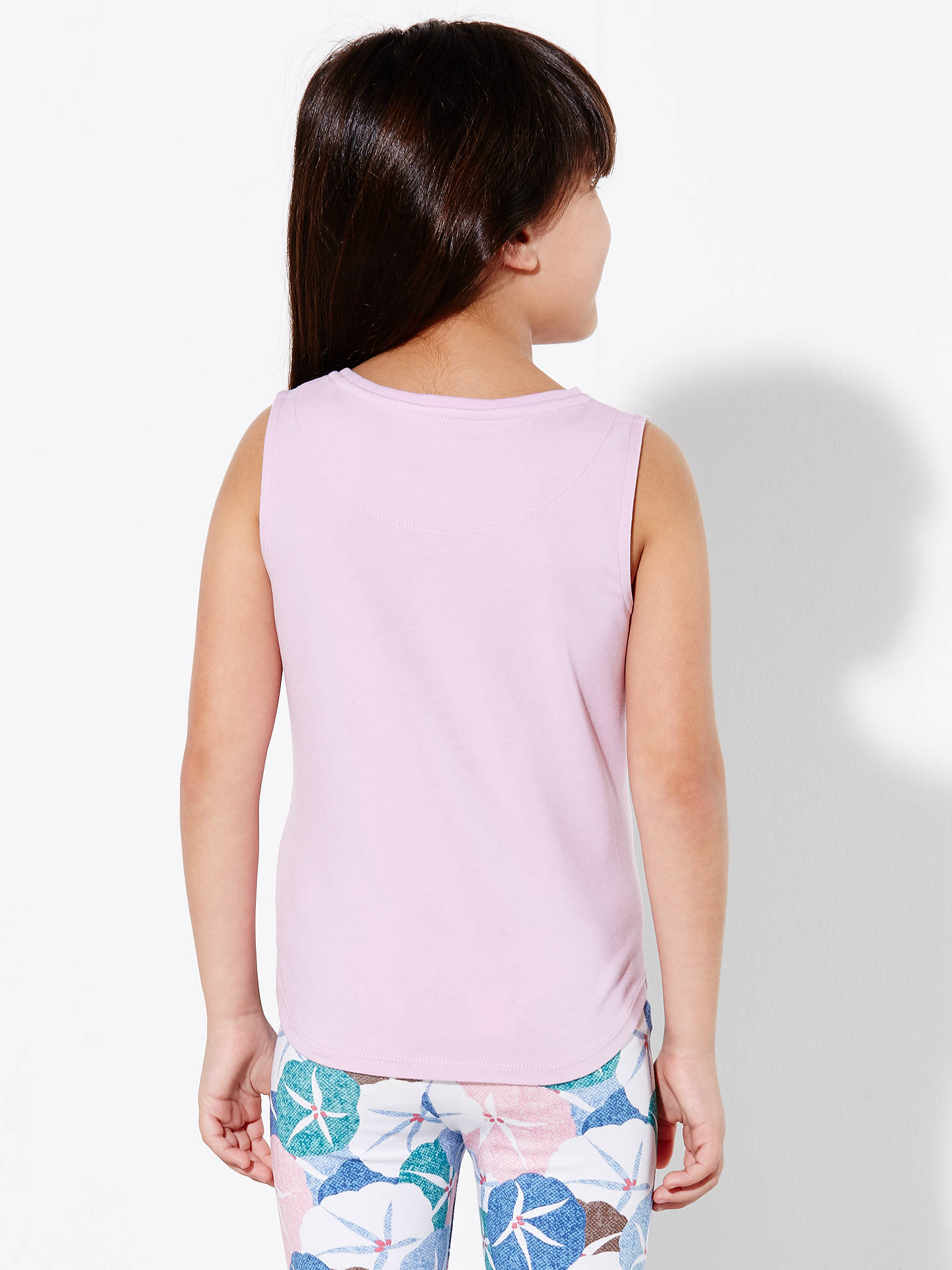 172e7e2517d46 ... BuyJohn Lewis Girls  Tropical Print Vest Top