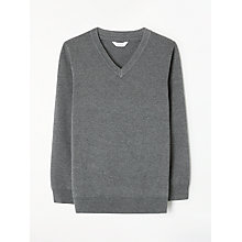 Buy John Lewis Unisex V-Neck School Jumper Online at johnlewis.com