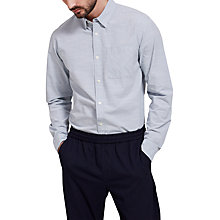 Buy Selected Homme Holm Stripe Shirt, Forever Blue Online at johnlewis.com
