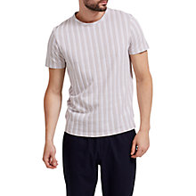 Buy Selected Homme Tunes Vertical Short Sleeve T-Shirt Online at johnlewis.com