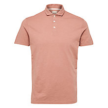 Buy Selected Homme Organic Cotton Polo Shirt Online at johnlewis.com