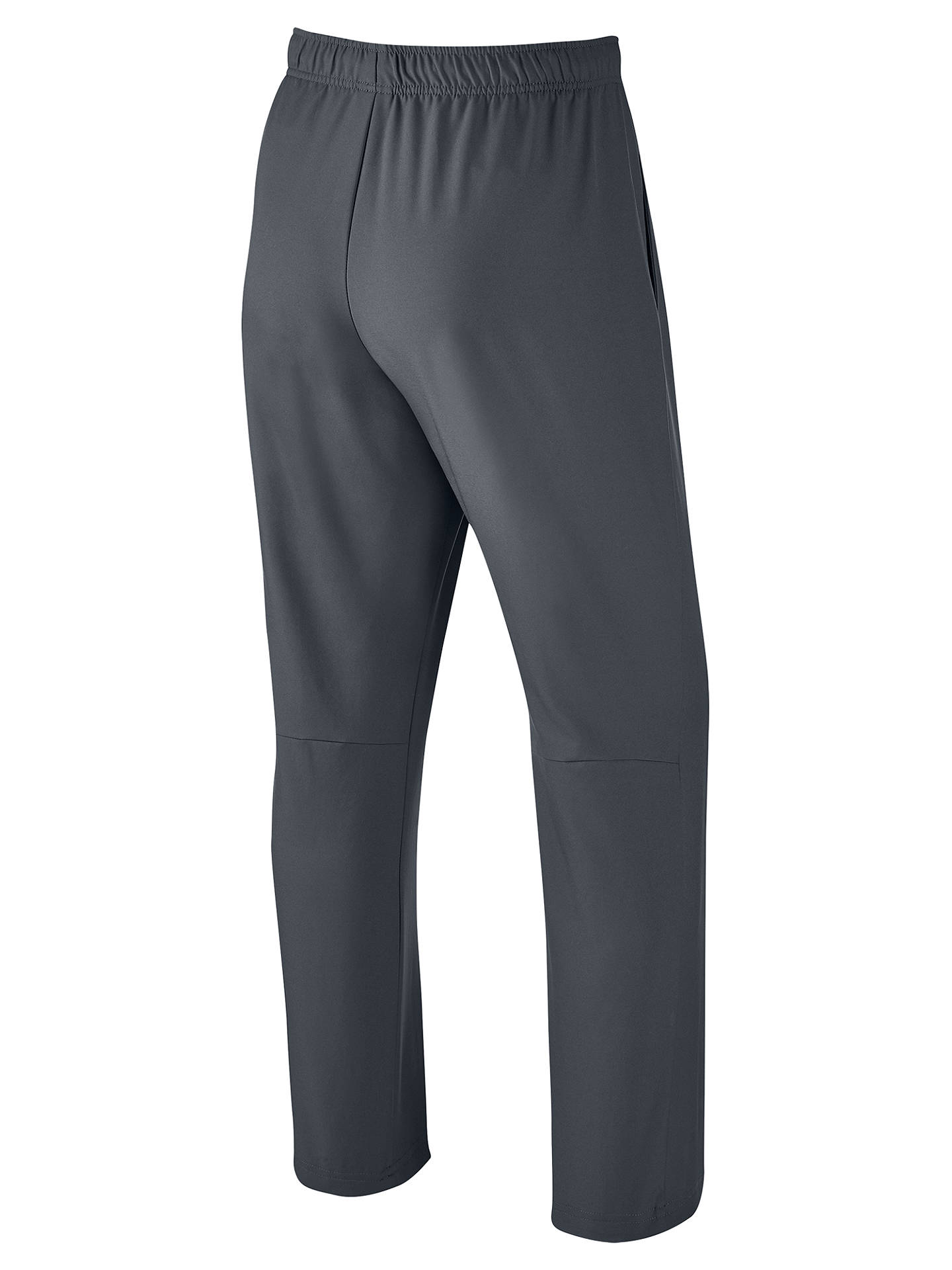 BuyNike Dry Team Tracksuit Bottoms, Grey/Black, S Online at johnlewis.com