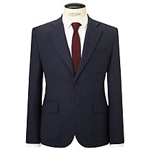 Buy J.Lindeberg Technical Water-Repellent Slim Fit Travel Blazer, Navy Online at johnlewis.com