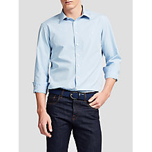 Buy Thomas Pink Glover Stripe Classic Fit Shirt, Pale Blue/White Online at johnlewis.com