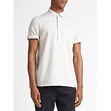 Buy Kin by John Lewis Overhead Short Sleeve Shirt, Ecru Online at johnlewis.com