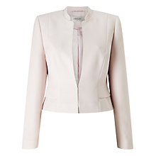 Buy Precis Petite Amelia Cropped Jacket, Light Pink Online at johnlewis.com
