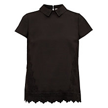 Buy Ted Baker Marnee Lace Insert Top Online at johnlewis.com