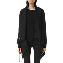 Buy AllSaints Drape Sweatshirt Online at johnlewis.com