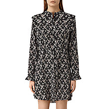 Buy AllSaints Sora Nevin Dress, Black Online at johnlewis.com