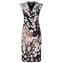 Buy Phase Eight Kyoto Printed Dress, Black/Multi Online at johnlewis.com