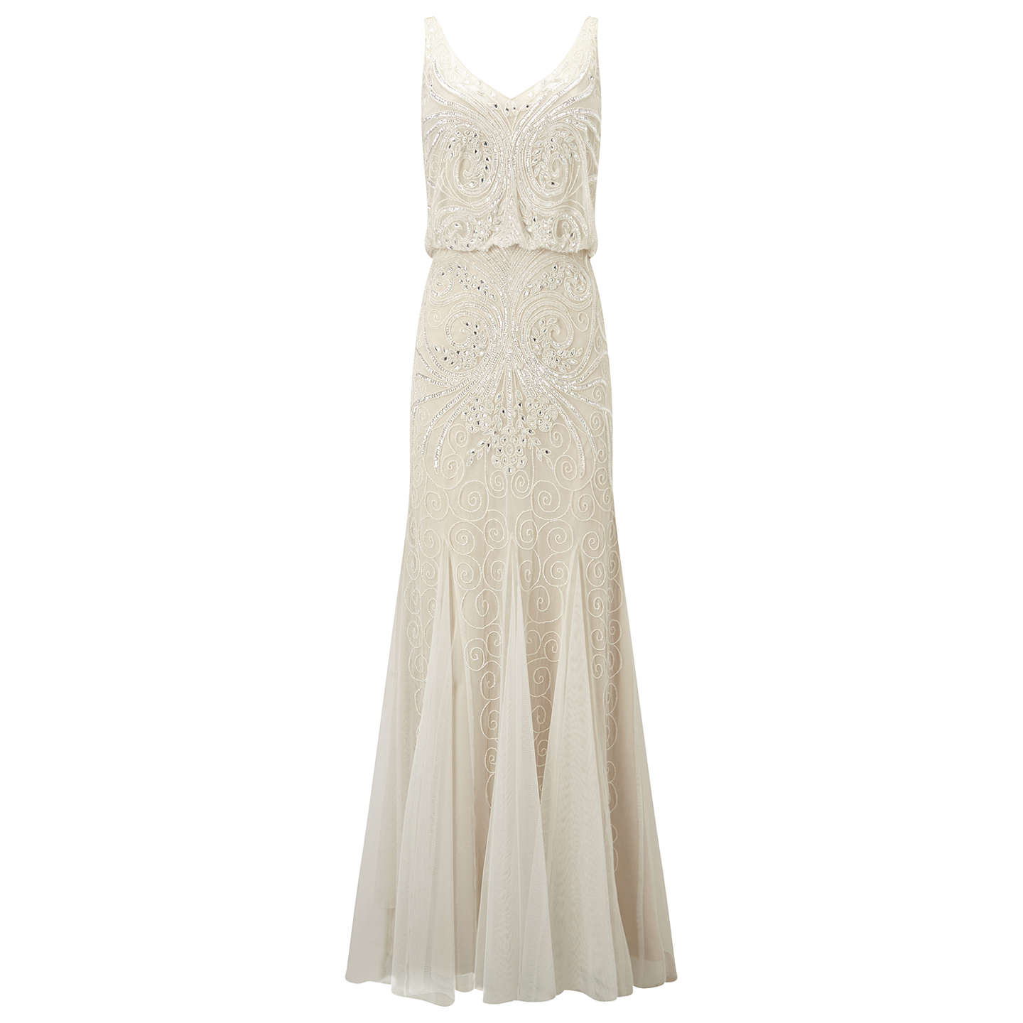 BuyPhase Eight Cathlyn Wedding Dress, Ivory, 6 Online at johnlewis.com ...