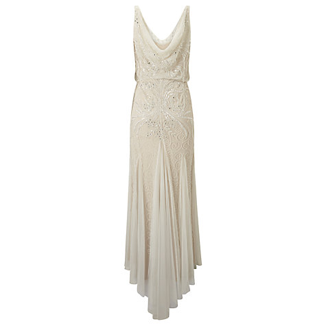 Buy Phase Eight Bridal Cathlyn Wedding Dress, Ivory Online at johnlewis.com