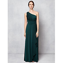 Buy Phase Eight Saffron One Shoulder Maxi Dress, Juniper Online at johnlewis.com