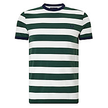 Buy Fred Perry Sports Authentic Striped Ringer T-Shirt Online at johnlewis.com
