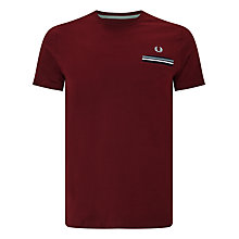 Buy Fred Perry Twin Tipped Pocket T-Shirt Online at johnlewis.com