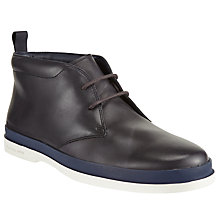 Buy Paul Smith Inkie Chukka Boots, Navy Online at johnlewis.com