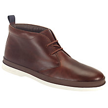 Buy Paul Smith Inkie Chukka Boots, Brown Online at johnlewis.com