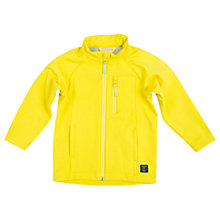 Buy Polarn O. Pyret Children's Water-Resistant Fleece Lined Jacket, Yellow Online at johnlewis.com