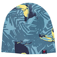 Buy Polarn O. Pyret Baby Toucan Hat, Blue Online at johnlewis.com