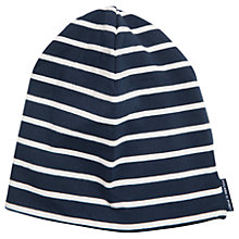 Buy Polarn O. Pyret Children's Striped Hat, Blue Online at johnlewis.com