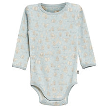 Buy Wheat Disney Baby Long Sleeve Dumbo Bodysuit, Soft Blue Online at johnlewis.com