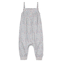 Buy Wheat Baby Anna Dungarees, Baby Blue Online at johnlewis.com