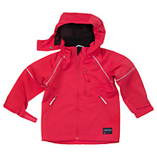 Buy Polarn O. Pyret Children's Shell Jacket, Red Online at johnlewis.com