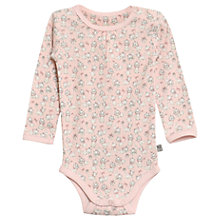 Buy Wheat Disney Baby AristoCats Marie Long Sleeve Bodysuit, Peony Online at johnlewis.com