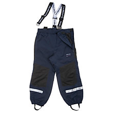Buy Polarn O. Pyret Children's Shell Trousers, Blue Online at johnlewis.com