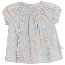 Buy Wheat Baby Becca Floral Print Blouse, Air Online at johnlewis.com