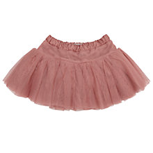 Buy Wheat Baby Tulle Skirt, Coral Pink Online at johnlewis.com