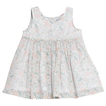 Buy Wheat Baby Pinafore Wrinkles Dress, White Online at johnlewis.com
