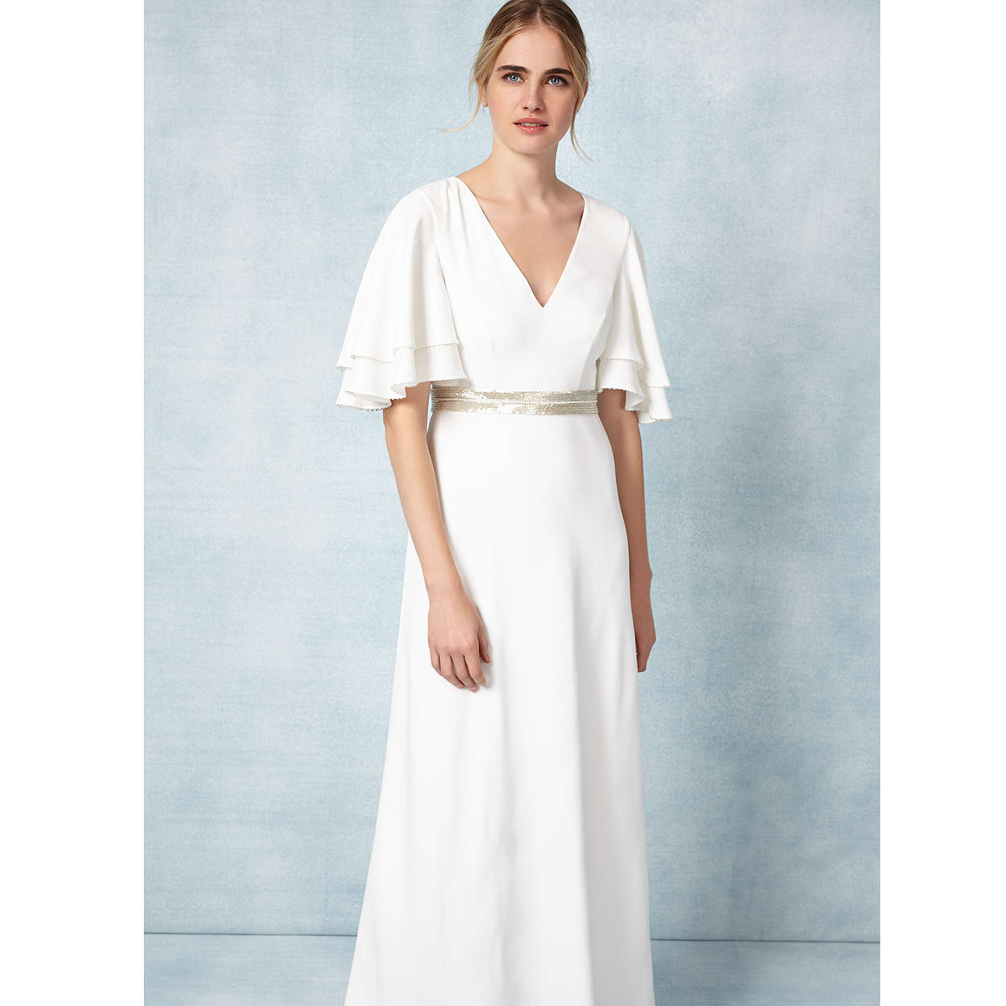Phase Eight Bridal Chelsie Wedding Dress, Ivory at John Lewis