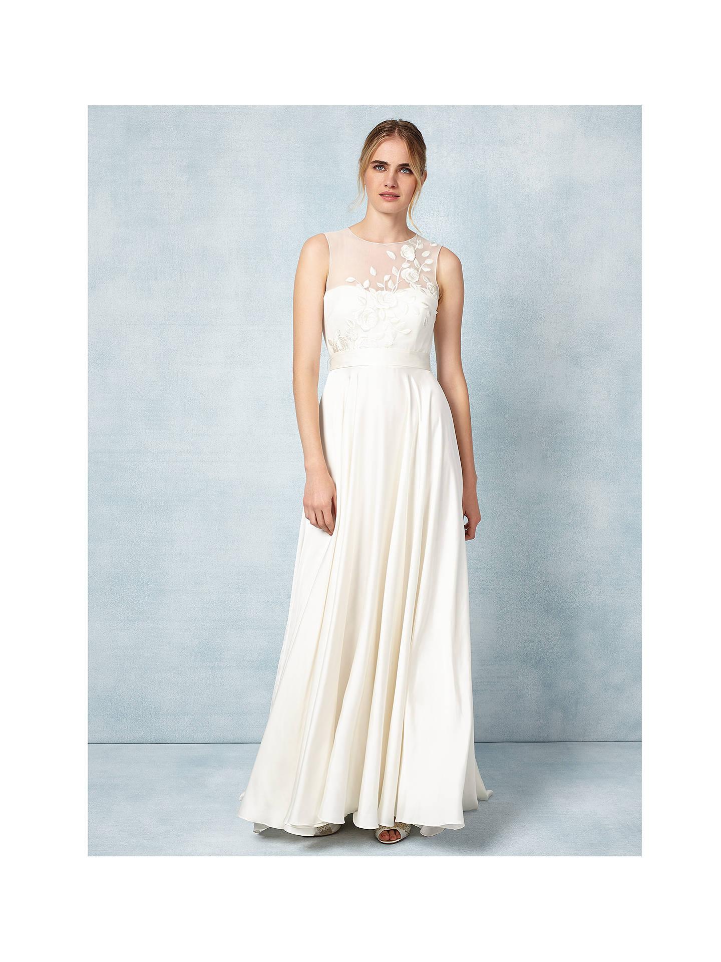 Phase Eight Bridal Clarabella Wedding Dress Cream 6 Online At Johnlewis