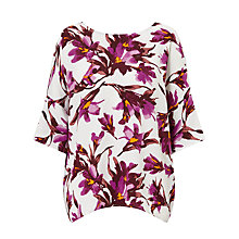 Buy Samsoe & Samsoe Marni Printed Top, Flora Online at johnlewis.com