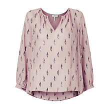 Buy Joie Mauro Top, Dusty Mink Online at johnlewis.com