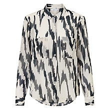 Buy Samsoe & Samsoe Molly Long Sleeve Shirt, Edge Online at johnlewis.com