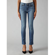 Buy Paige Hoxton Crop Rollup Skinny Jeans, Kallina Online at johnlewis.com