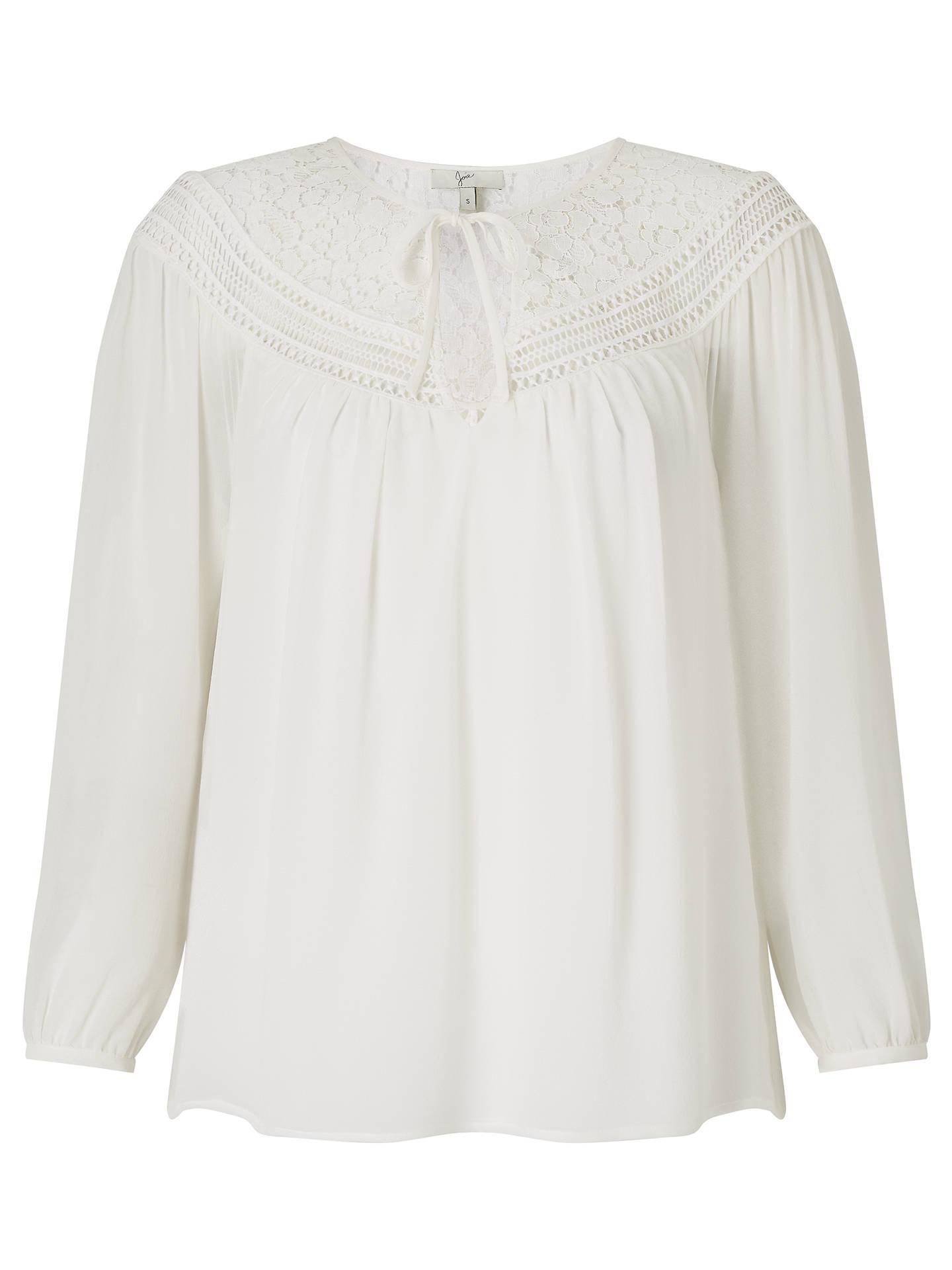 e629e0c47ce83 Buy Joie Belleville Lace Insert Silk Blouse