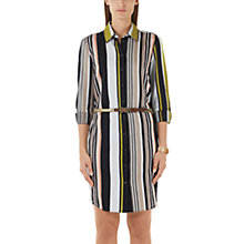 Buy Marc Cain Stripe Shirt Dress, Multi Online at johnlewis.com