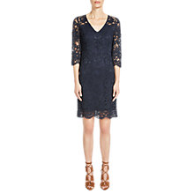 Buy Oui Lace Dress, Night Sky Online at johnlewis.com
