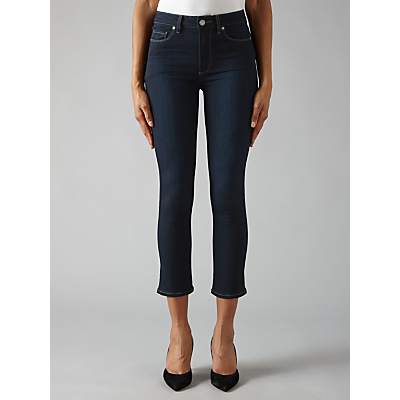 Paige Jacqueline Cropped Straight Jeans, Mona