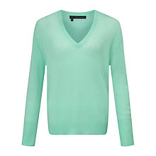 Buy 360 Sweater Leslei Cashmere Jumper, Retro Mint Online at johnlewis.com