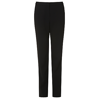 Product photo of L k bennett evie hemmer trousers black
