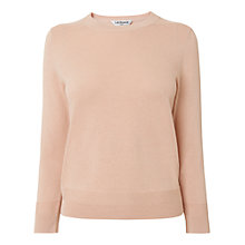 Buy L.K. Bennett Maisy Crew Neck Jumper, Pink Online at johnlewis.com
