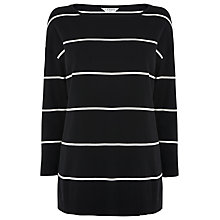 Buy L.K. Bennett Mallory Stripe Top, Multi Online at johnlewis.com